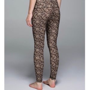 Limited Edition lulu Gold Sequin Shine Leggings